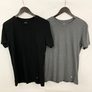 Polo Ralph Lauren Men's 2 T Shirts - Black & Grey